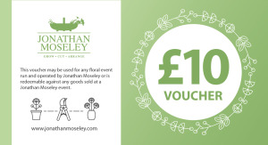 Jonathan Moseley Gift Vouchers – now available