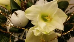 Stunning Christmas flowers floral workshop