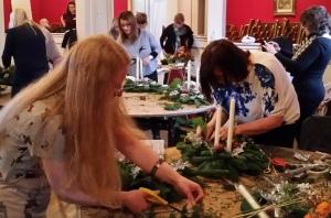 Christmas Floral Workshop at Chatsworth
