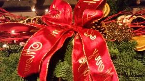 Advance notice of Christmas Flower School Days 2016