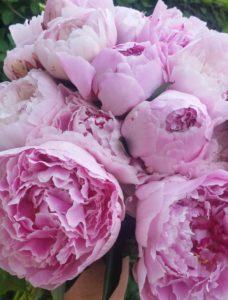 Celebration flowers at Woburn Abbey