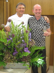 Celebrating British Flowers at Belmond Le Manoir Aux Quat'Saisons