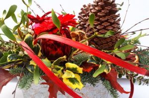 Festive Workshop – Nordic Forest Tablescape & Wired Swags