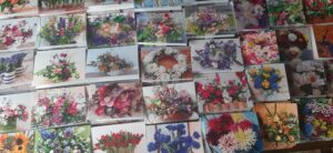 Exclusive new range of Floral Greeting Cards