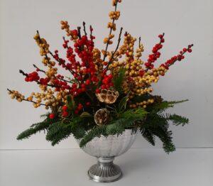 Festive workshop – Table arrangements and Linear designs